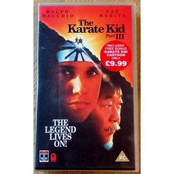 The Karate Kid Part III (VHS)