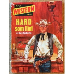 Western: 1966 - Nr. 13 - Hard som flint