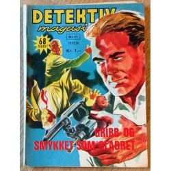 Detektivmagasinet: Nr. 11 - 1060 - 31. oktober 1962