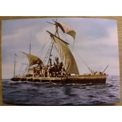 Postkort: Kon-Tiki Expedition 1947 - Across the Pacific