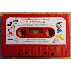 Walt Disney: Eventyrbånd Nr. 24 - Vi leker en sang