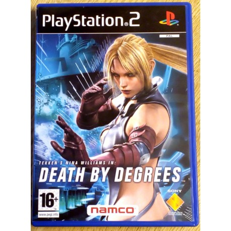Tekken's Nina Williams in Death by Degrees (NAMCO)