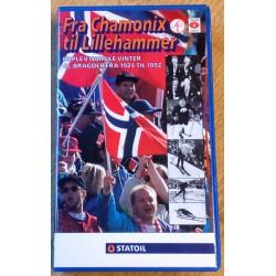 Fra Chamonix til Lillehammer - Opplev norske vinter OL-bragder fra 1924 til 1992 (VHS)