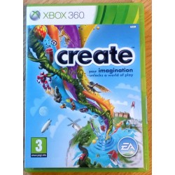 Xbox 360: Create - Your imagination unlocks a world of play (EA Games)