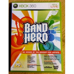 Xbox 360: Band Hero - 65 songs by the biggest pop artists (Activision)