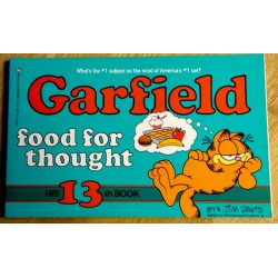 Garfield food for thought - His 13th book (1987)