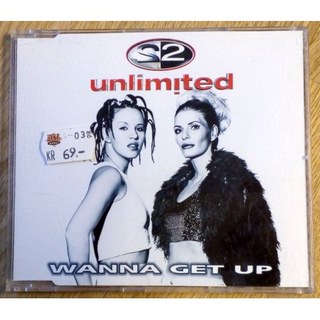 2 Unlimited: Wanna Get Up (CD)