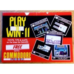 Commodore User: Play to Win II