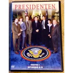 Presidenten: Sesong 1 - Episode 5-8 (DVD)