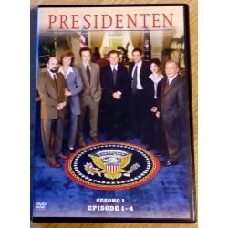 Presidenten: Sesong 1 - Episode 1-4 (DVD)