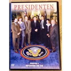 Presidenten: Sesong 1 - Episode 20-22 (DVD)
