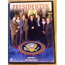Presidenten: Sesong 1 - Episode 16-19 (DVD)