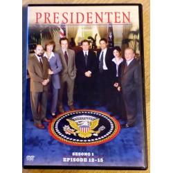 Presidenten: Sesong 1 - Episode 12-15 (DVD)