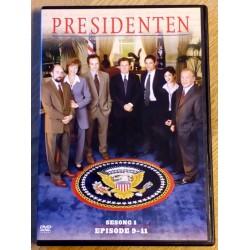 Presidenten: Sesong 1 - Episode 9-11 (DVD)