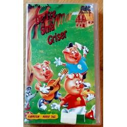 De tre små griser (VHS)