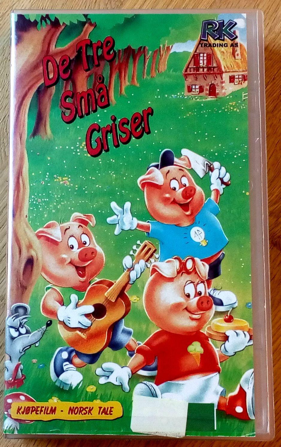 de tre små griser