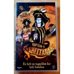 Kaptein Sabeltann (VHS)