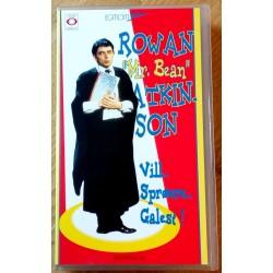 Rowan Mr. Bean Atkinson - Vill, sprøere, galest! (VHS)