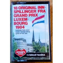 18 original innspillinger fra Grand Prix Luxembourg 1984 (kassett)