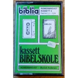Kassett Bibelskole - Romerbrevet 2,1 - 3,24 (kassett)