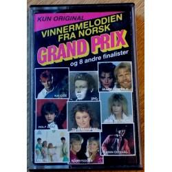 Vinnermelodien fra norsk Grand Prix og 8 andre finalister (kassett)