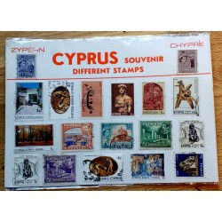 Frimerker: Cyprus - Different stamps
