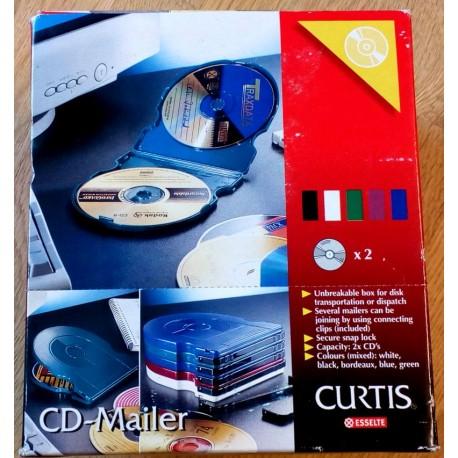 Curtis CD-Mailer fra Esselte - 10 stykker