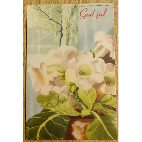 Postkort: Milly Heegaard - God jul - 1941