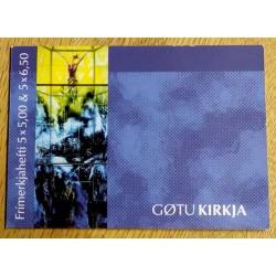 Frimerker: Færøyene - Gøtu Kirkja - 2002