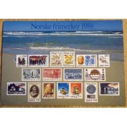 Postkort: Norske frimerker 1988 - Jæren