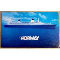 Postkort: Norwegian Caribbean Lines - SS Norway