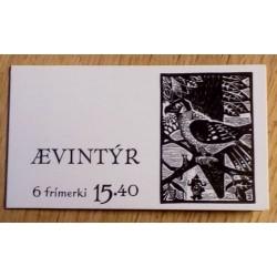 Frimerker: Færøyene - 1984 - Ævintyr