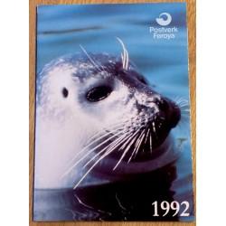 Frimerker: Færøyene - Årsett 1992