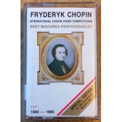 Fryderyk Chopin: International Chopin Piano Competitions (kassett)