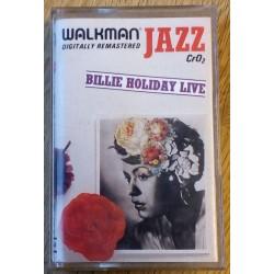 Billie Holiday Live (kassett)