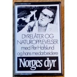 Dyrelåter og naturopplevelser med Per Hafslund og hans medarbeidere (kassett)