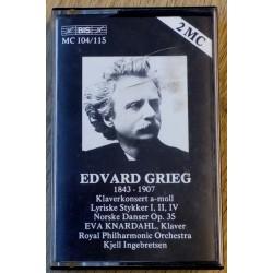 Edvard Grieg: Klaverkonsert, Lyriske Stykker, Norske Danser (kassett)