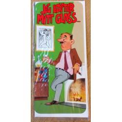 Bursdagskort: Joker - Jeg løfter mitt glass...