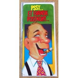 Bursdagskort: Joker - Psst.. Et fransk postkort..