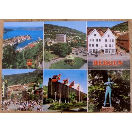 Postkort: Bergen - Hordaland
