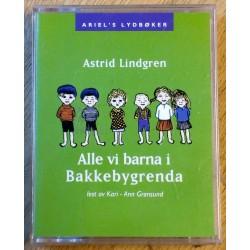 Alle vi barna i Bakkebygrenda av Astrid Lindgren (lydbok)