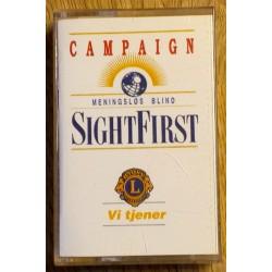 Meningsløs Blind - Sight First (kassett)