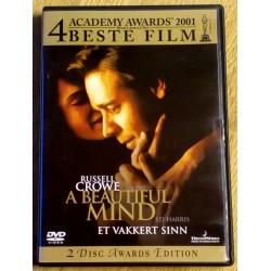 A Beautiful Mind (Et vakkert sinn) (DVD)