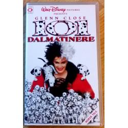 101 Dalmatinere (VHS)