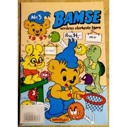 Bamse: 1993 - Nr. 3 - Mysteriet på Tåkeøya III