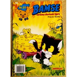 Bamse: 1996 - Nr. 10 - Katten Janson og Husmusas ostefest