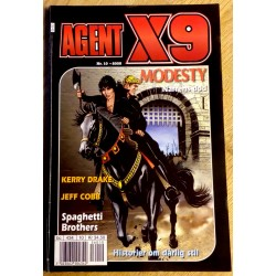 Agent X9: 2005 - Nr. 10 - Narrens død