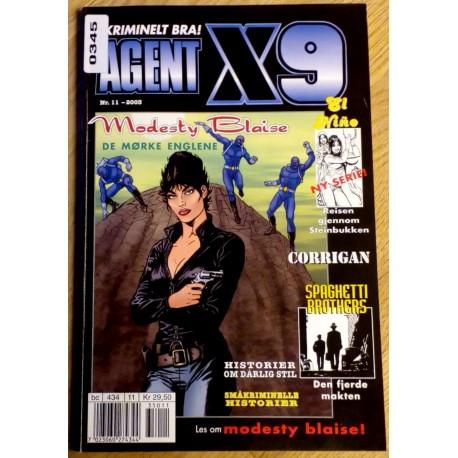 Agent X9: 2003 - Nr. 11 - De mørke englene