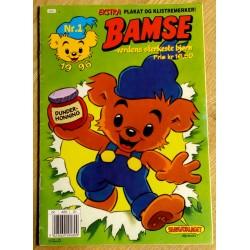 Bamse: 1996 - Nr. 1 - Teddy blir detektiv