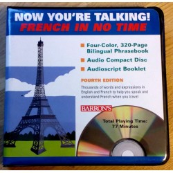 Now You're Talking! French In No Time (CD)
